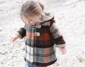 Pixie Hood Coat - Sizes 1-14 UNISEX PDF Pattern