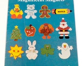 Halloween Crafts 4 Kids Felt Magnets Easy Holiday Craft Book Christmas Felt Magnets Easter Thanksgiving Magnets Cheap Gifts for Kids to Make