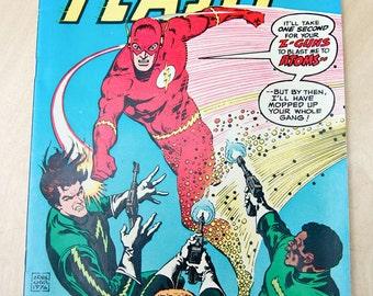 DC bronze age comic book. The Flash. Vol 27 #245 November 1976