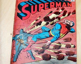 DC bronze age comic book. Superman. Vol. 37 #291 Sept. 1975