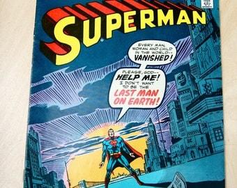 DC bronze age comic book. Superman. Vol. 37 #294 December 1975