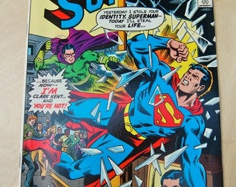 DC bronze age comic book. Superman. Vol 39 #315 September 1977