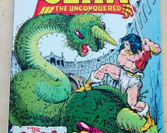 DC bronze age comic book. Claw the Unconquered Vol 1 # 2 July 1975
