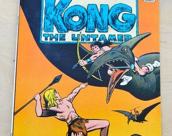 DC bronze age comic book. Kong the Untamed. Vol 2 # 5 Feb 1976