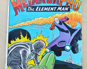 DC bronze age comic book. !st issue special. Metamorpho The Element Man. Vol 1 # 3 June 1975