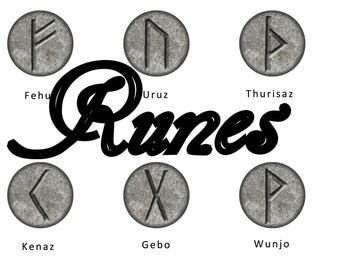 Runes Magnets Pins,  Devination Oracles, Viking Wedding , Wedding Favors, Gift Sets,  Pin or Magnets