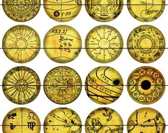 Astrological Magnets, Astrological Pins, Gift Sets, Fridge Magnets, Gift for Astronomer