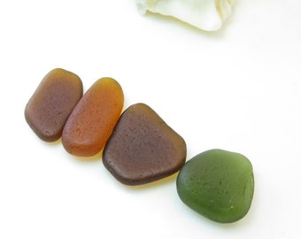 Undrilled Genuine Surf Tumbled  Sea Glass /Beach Glass for Wrapping,Jewelry,Masaic, Crafts