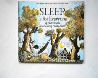 Sleep is For Everyone, a Vintage Children's Book