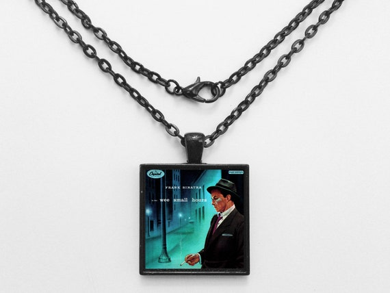 Frank Sinatra - In The Wee Small Hours Album Cover Necklace OR Keychain