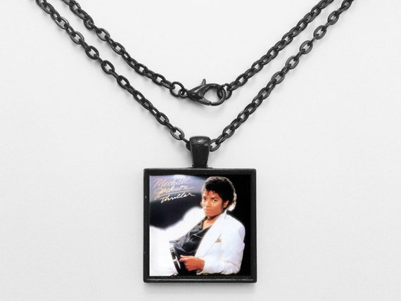 Michael Jackson - Thriller Album Cover Necklace OR Keychain