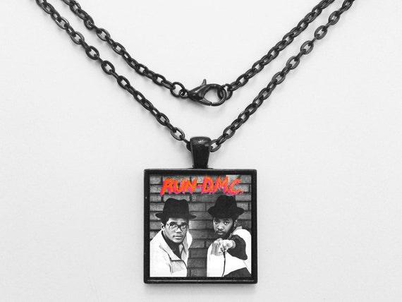 Run DMC - Run DMC Album Cover Necklace OR Keychain