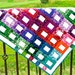 Fabric Wall Hanging-Stunning Colors-Art Quilts-Handmade
