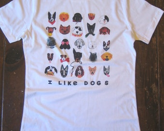 Dogs Womens T Shirt