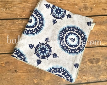 Small Security Blanket - Nautical