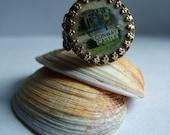 Very Vintage Conway Castle Ring Souvenir