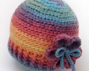Crochet pattern - Baby girl or boy crochet hat pattern! Beanie crochet pattern. Permission to sell finished items. Pattern No. 144