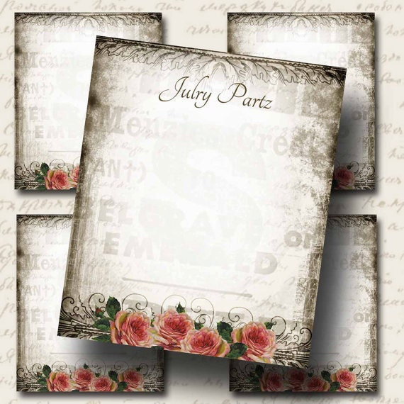 Diy Bracelet Display Card: DIY French Market, Earring Cards, Jewelry Cards,Tent Card