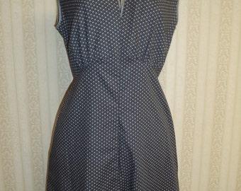 Vintage Inspired Soft Cotton Lounge Wear Dress