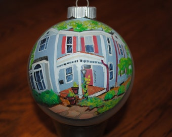 Hand Painted Home ornament done from picture