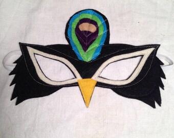 Felt Peacock Mask