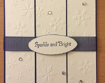Sparkle & Bright, Christmas/Holiday Card