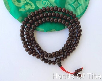 Tibetan mala Rosewood mala 108 beads for meditaion