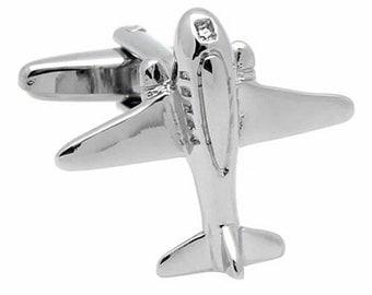 Air Plane Cufflinks