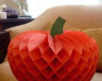 Vintage Paper Pumpkin Halloween Samhain Autumn Thanksgiving Home Decor Party Decor