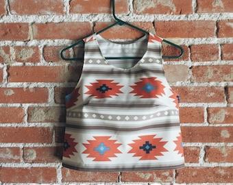 Aztec Tank/ Aztec Shirt / Tribal Tank