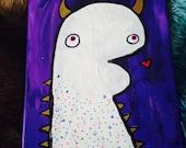 Purple People Eater Painting