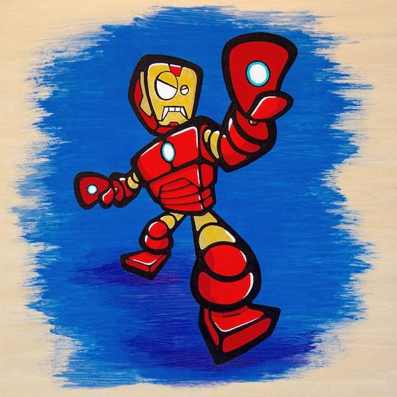 Ironman Bot Giclee Print