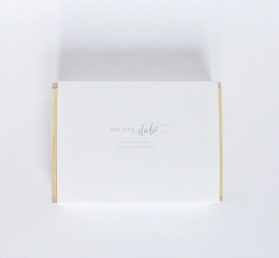 Calligraphy intermediate kit