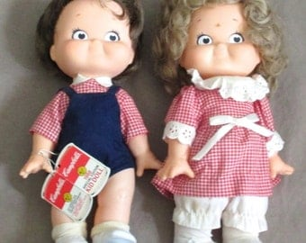 Campbell Soup 1988 Edition Kid Dolls