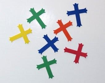 Cross Embellishments Confetti Scrapbook Christian Craft Supplies 175 Pieces