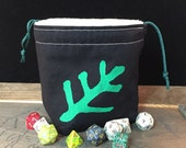 Cthulhu Elder Symbol Dice Bag
