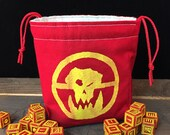 War Orcs Mad Max-inspired Dice Bag