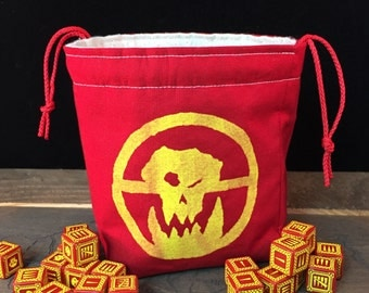 War Orcs Mad Max-inspired Dice Bag