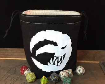 Goblin Moon dice bag