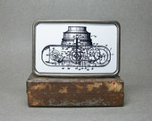 Belt Buckle Vintage Camera Patent Metal Cool Gift for Men or Women