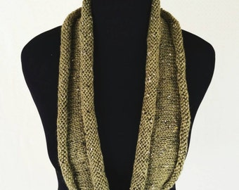 Infinity Scarf Moss Green