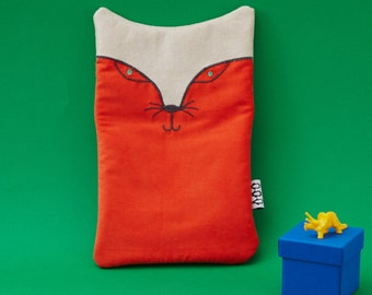 Fox Hot Water Bottle cover - comes with hot water bottle