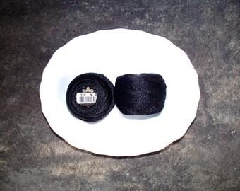 DMC Perle Cotton 8 Blacks/Grays