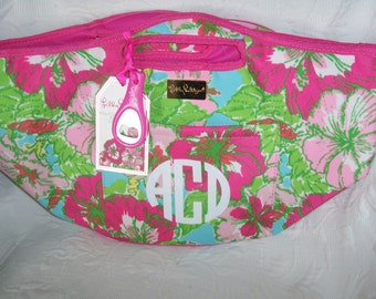 Personalized Lilly Pulitzer BIG FLIRT Cooler Beverage Bucket Tote
