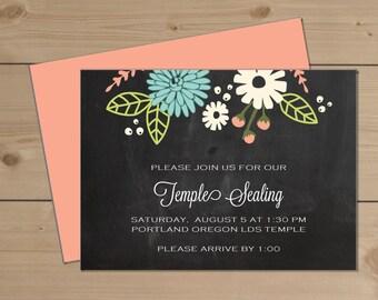 "Deposit for Flower LDS Temple Sealing Enclosure (5.5""x4"")"