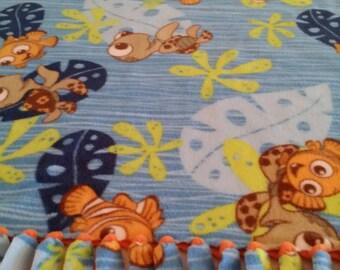 Finding Nemo Fleece Blanket (Tangerine)