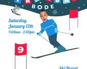 Ski and  Beer Invitation