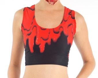 Blood Crop Top