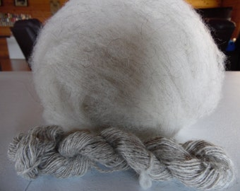 Churro roving in 3 colors