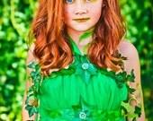 Poison Ivy Halloween Costume | Poison Ivy Costume | Poision Ivy Tutu Dress | Poison Ivy Tutu Costume | Poison Ivy | Gotham | Batman Tutu